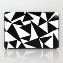 Playful triangles 2 iPad Case