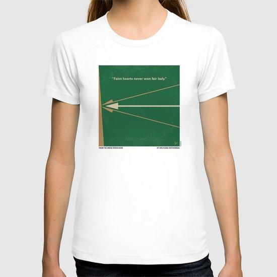 No237 My Robin Hood minimal movie poster T-shirt
