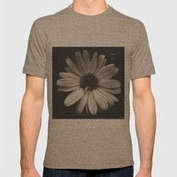 elegant flower  Mens Fitted Tee Tri-Coffee SMALL