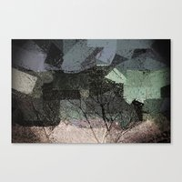 Patchwork Abstract  Canvas Print