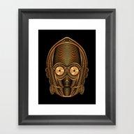 StarWars - C-3PO Framed Art Print