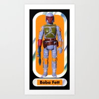 Boba Fett Beach Towel : Smaller Art Print