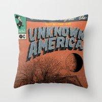 Unknown America Comics #… Throw Pillow