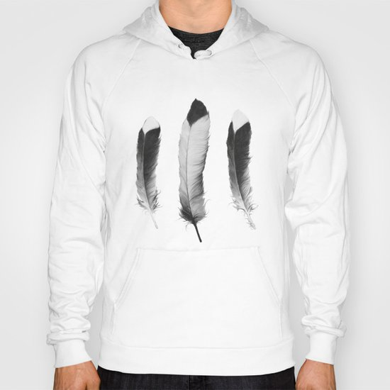 Feathers Sketch Hoody