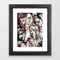 Degeneration. Framed Art Print