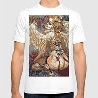 Corruption Mens Fitted Tee White SMALL