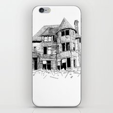 cabin fever iPhone & iPod Skin