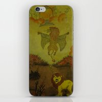 Lion Heaven iPhone & iPod Skin