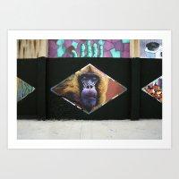 6 Rombos Art Print