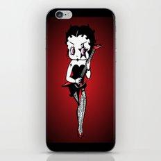 BETTY ROCK iPhone & iPod Skin