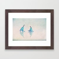 Marry? Framed Art Print
