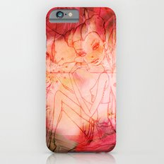 girl butterfly iPhone 6 Slim Case