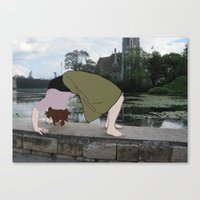 Backbend Canvas Print