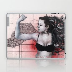 Strength in Red Laptop & iPad Skin