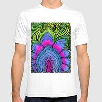 Pulse Mens Fitted Tee White SMALL