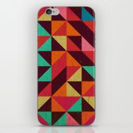 iPhone & iPod Skin featuring Skin Pyramid by Tony Vazquez