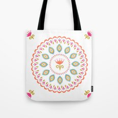 Suzani inspired floral 3 Tote Bag
