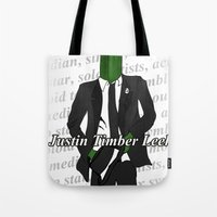 Justin Timber Leek Tote Bag