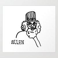 Allen Art Print