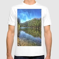 Big Bear. Mens Fitted Tee White SMALL