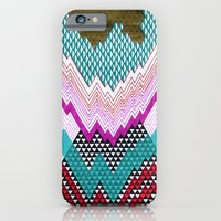 iPhone & iPod Case featuring Isometric Harlequin #5 by KATE KOSEK