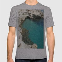 Shore Mens Fitted Tee Athletic Grey SMALL