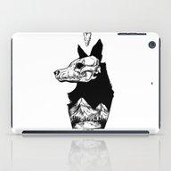 Black Wolf Mountain iPad Case