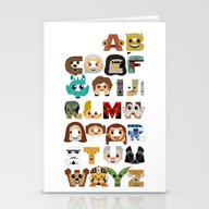 ABC3PO Stationery Cards