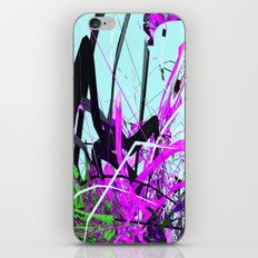 the guardian asleep, a meteor struck the garden room, dabloon collection orchid iPhone & iPod Skin