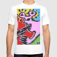 Analkemikal Mens Fitted Tee White SMALL