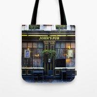 John's Pub Tote Bag