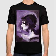 Lilas Mens Fitted Tee Black SMALL