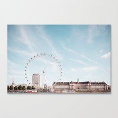 London Eye Canvas Print
