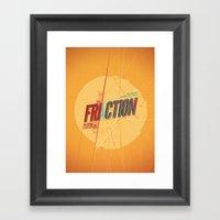 Fri/actionn Framed Art Print