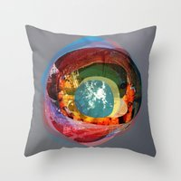 the abstract dream 18 Throw Pillow