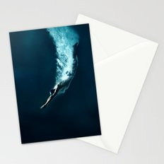 Olympic game swim Stationery Cards