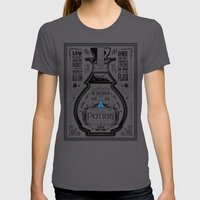 Legend Of Zelda Blue Chu… Womens Fitted Tee Asphalt SMALL