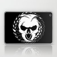 Skull Head Two Laptop & iPad Skin