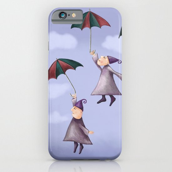 Floating Down iPhone & iPod Case