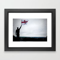 National Pride Framed Art Print