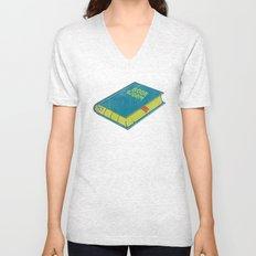 Book Worm Unisex V-Neck