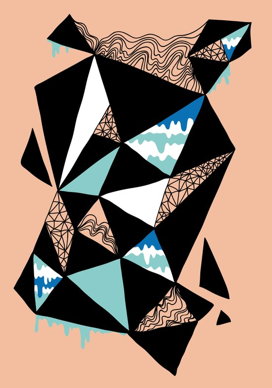 Crystalized I Art Print