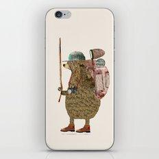 nature bear iPhone & iPod Skin