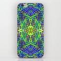 Tribal green iPhone & iPod Skin