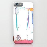 iPhone & iPod Case featuring Balloon Voyage by VirginiaEddie Designs