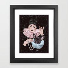Dress Up Framed Art Print