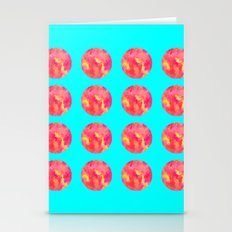 Summer Circles Stationery Cards