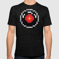 2001: A Pixel Odyssey Mens Fitted Tee Tri-Black SMALL