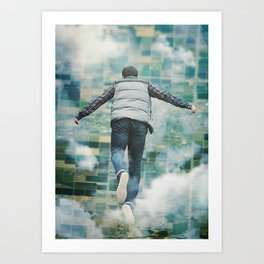 Art Print - Falling up - Seamless