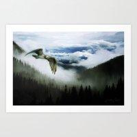 Northwest Mountain Pass Art Print